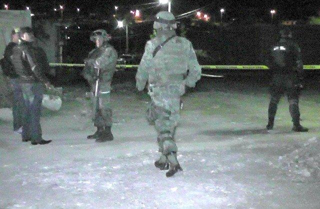 ¡Delincuentes balearon a militares en Valparaíso, Zacatecas, e hirieron a 2!