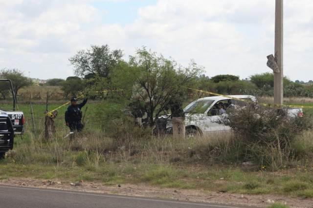 ¡Encuentran tres ejecutados en estado de putrefacción en Guadalupe, Zacatecas!