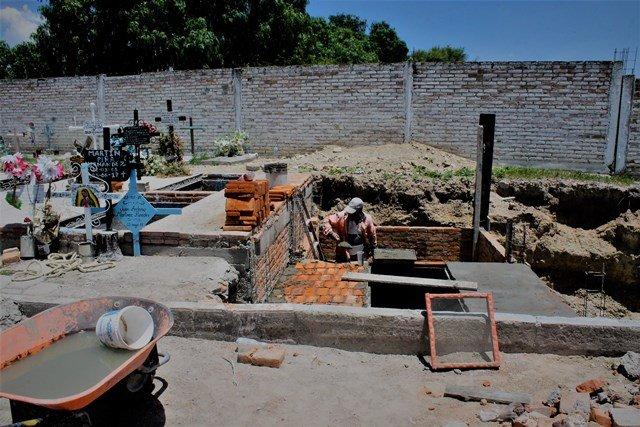 ¡Rehabilitan los cinco panteones municipales en Jesús María!