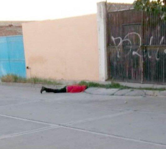 """¡""""El Güicho"""" fue ejecutado de un balazo en la colonia Francisco Villa en Fresnillo!"""