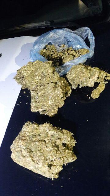 ¡Con 1 kilo de marihuana detuvieron a 2 traficantes de drogas en Aguascalientes!