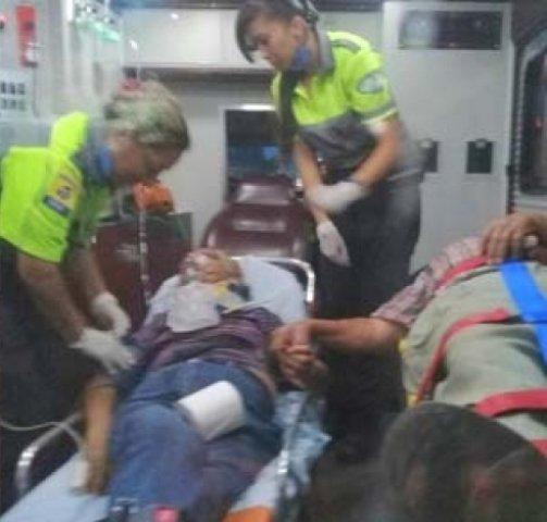 ¡Esposos lesionados tras aparatoso accidente en Aguascalientes!