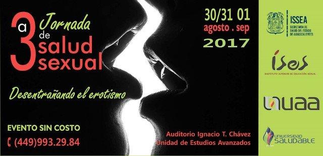 ¡El ISSEA llevará a cabo la Tercera Jornada de Salud Sexual en Aguascalientes!