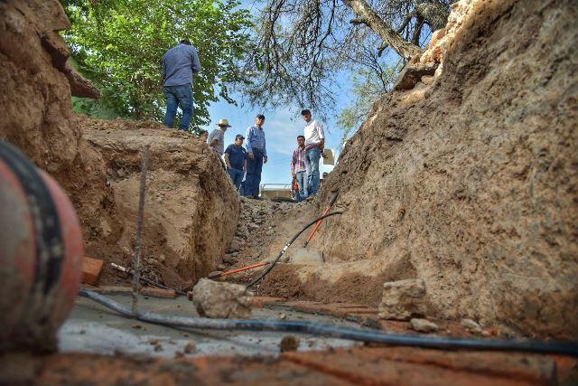 ¡Saneará el Ayuntamiento de Jesús María una de las redes de agua más antiguas de la cabecera municipal!