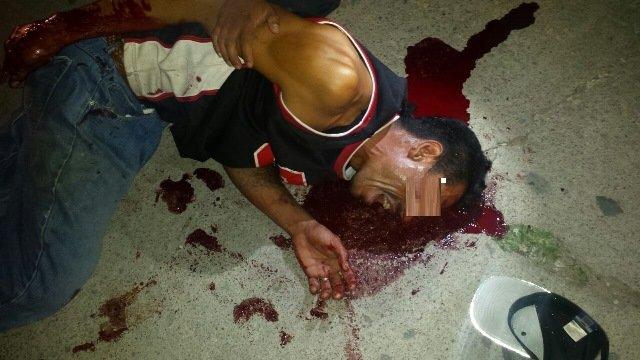 ¡Sangrienta riña en Aguascalientes dejó 1 lesionado y 1 detenido!