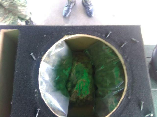 ¡2 kilos de marihuana decomisados en otro autobús de pasajeros en Aguascalientes!