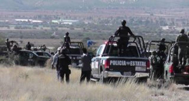 ¡Enfrentamiento entre policías estatales y delincuentes en Cañitas de Felipe Pescador, Zacatecas!