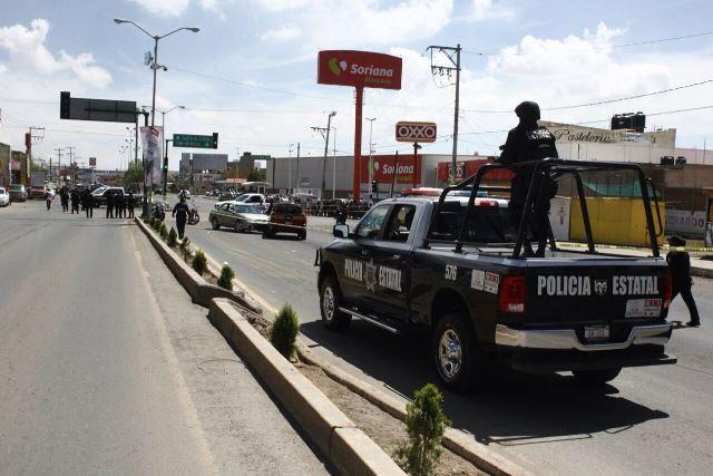 ¡Enfrentamiento dejó heridos a un policía y a un delincuente en Guadalupe, Zacatecas!