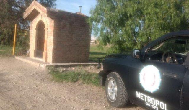 ¡Ejecutaron a un joven a un lado del altar de la Santa Muerte en Zacatecas!