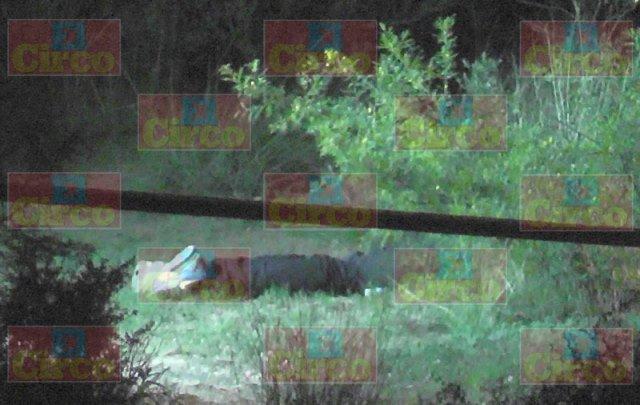 ¡En el rancho La Manga, en Fresnillo, fue ejecutado a balazos un hombre!