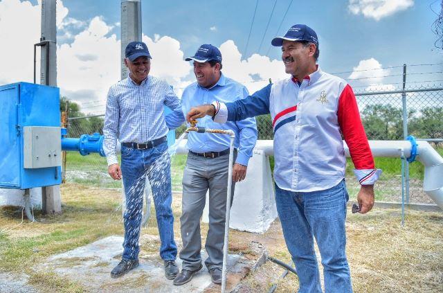 ¡Entregaron en Jesús María obras que mejoran el servicio de agua potable a más de 10 colonias!