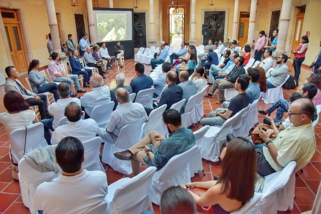 ¡Noel Mata asistió al 50 aniversario del Colegio de Arquitectos de Aguascalientes!