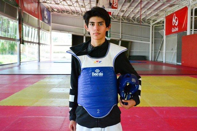 ¡El aguascalentense Juan Fernando Nieto al Mundial de Cadetes de Taekwondo en Egipto!