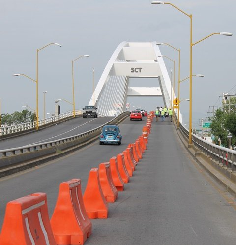 ¡Mantenimiento preventivo al puente Bicentenario se encuentra en la última etapa!
