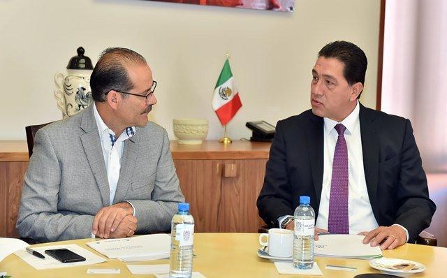 ¡Gobierno del Estado trabaja de la mano con Infotec para consolidar el Gobierno en Aguascalientes!