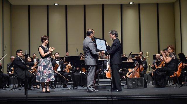 ¡El Gobierno del Estado nombra a la OSA como Embajadora Cultural de Aguascalientes!