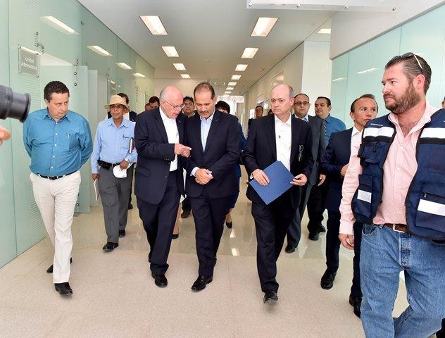 ¡Gobierno del Estado y Federación suman esfuerzos para poner en marcha al nuevo Hospital Hidalgo!