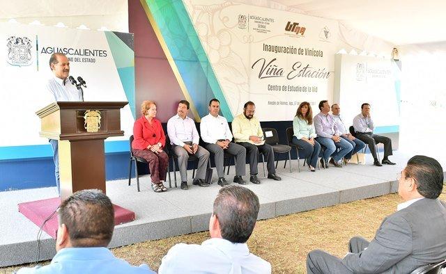 ¡Impulsa Gobierno del Estado el regreso de la vocación vitivinícola de Aguascalientes!