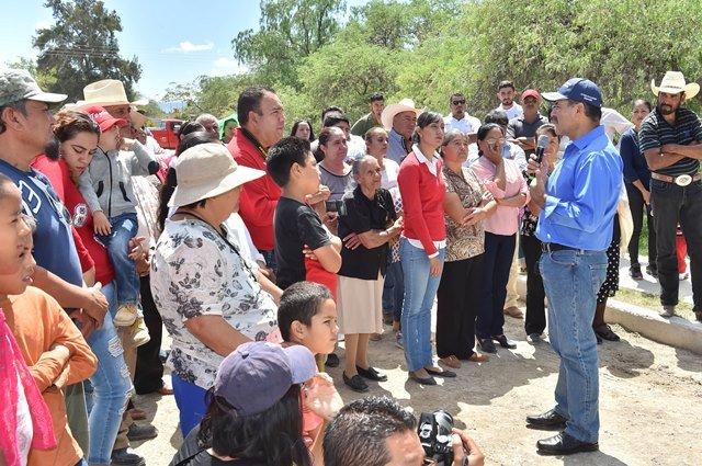 ¡Gobierno del Estado trabaja en la atención integral a comunidades rurales de todos los municipios del estado!
