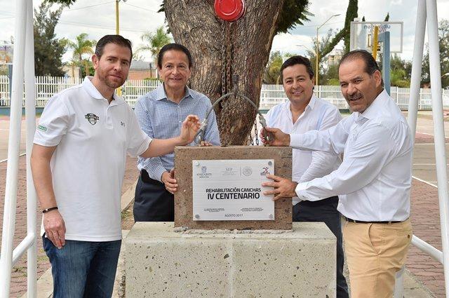 ¡Arranca gobernador remodelación de Ciudad Deportiva y anuncia proyecto de rescate urbano!