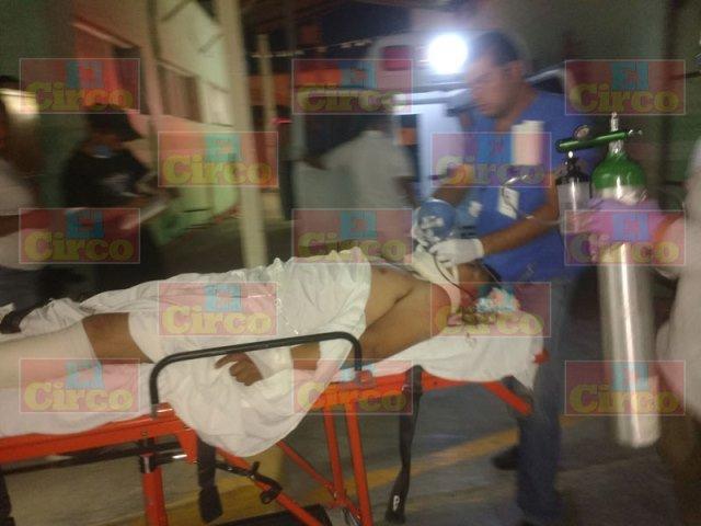 ¡Grave motociclista tras fuerte accidente en Ojuelos, Jalisco!