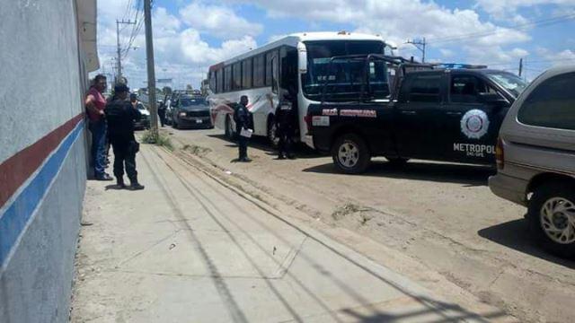 ¡Adolescente murió en un autobús a causa de un paro cardíaco en Guadalupe, Zacatecas!