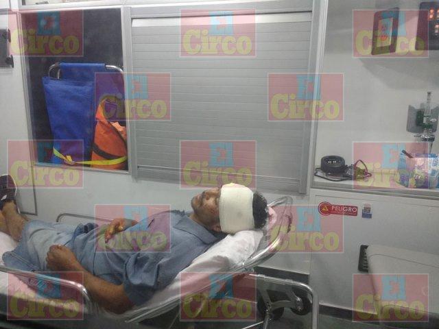 ¡Hombre recibió una golpiza en Lagos de Moreno y resultó lesionado!