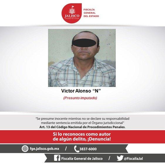 ¡FGE captura en San Juan de los Lagos a hombre señalado por abuso sexual infantil!