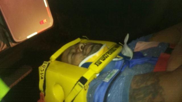 ¡Un muerto y tres heridos en aparatosa volcadura en Aguascalientes!