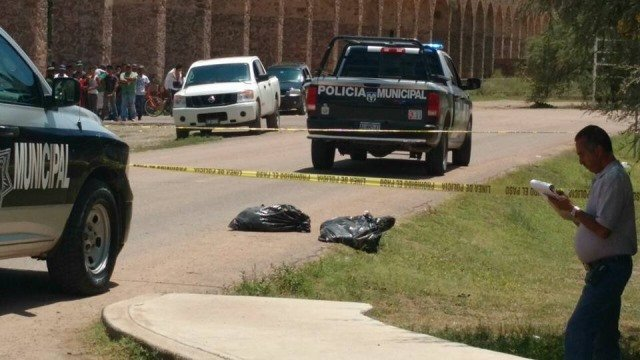 ¡Encuentran cuerpos descuartizados en bolsas de plástico en la 45 Norte en Aguascalientes!