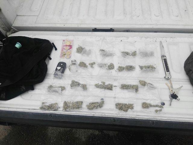 ¡Policías municipales detuvieron a presunto distribuidor de drogas y ladrón de vehículos en Aguascalientes!