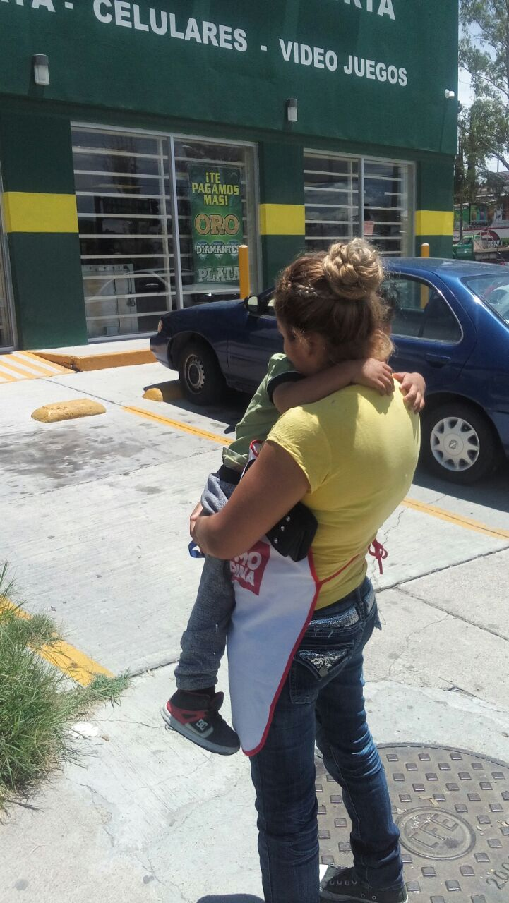 ¡Policías municipales localizan a menor extraviado en Aguascalientes!