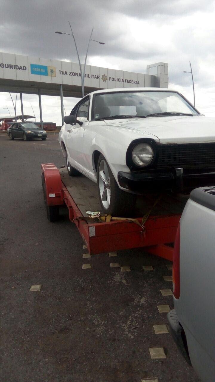 ¡Elementos de la PEP aseguraron un automóvil robado en la UNIRSE en Trancoso!