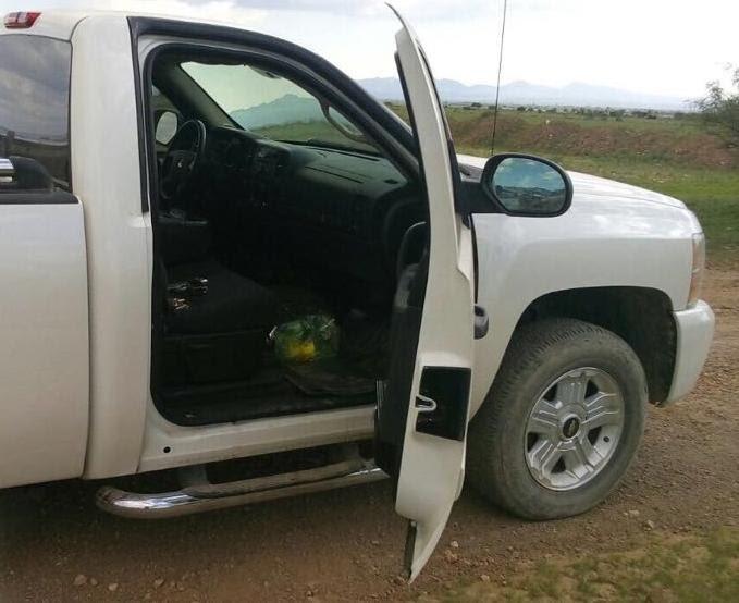 ¡Policía Estatal aseguró 3 armas de fuego y una camioneta tras persecución en Noria de Ángeles, Zacatecas!