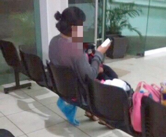 ¡Joven de Michoacán fue detenida en Aguascalientes por vender a su bebé por internet!