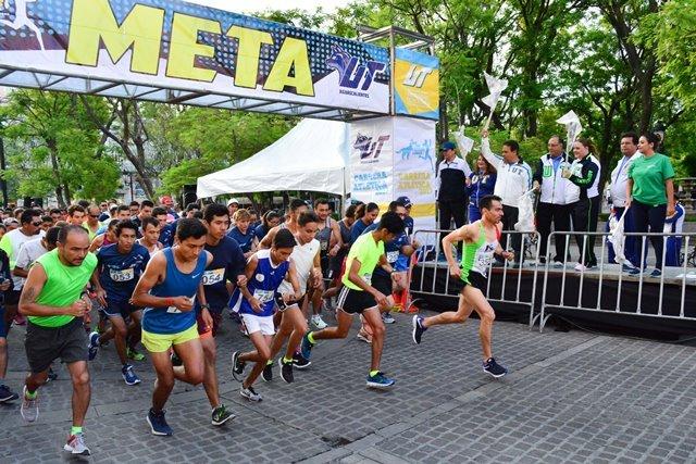 ¡Un éxito la carrera atlética por el aniversario de la UT Aguascalientes!