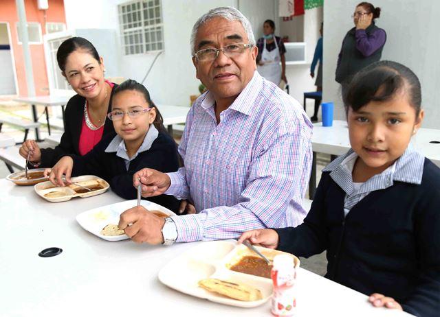 ¡Busca el DIF Municipal favorecer la nutrición de niñas y niños a través de comedores populares!