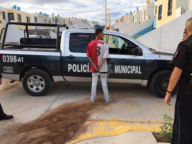 "¡Capturaron al delincuente ""El Chuky"" que asaltó a un taxista en Aguascalientes!"