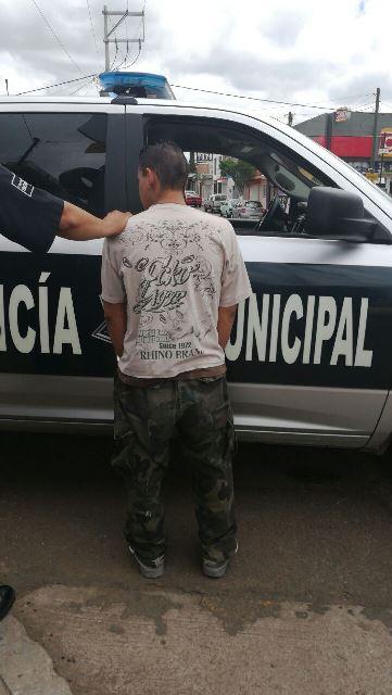 ¡Detuvieron a un sujeto por delincuencia organizada en Aguascalientes!