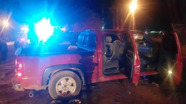 ¡Capturaron a 4 sicarios en Calera, Zacatecas, con armas y una camioneta robada en Aguascalientes!