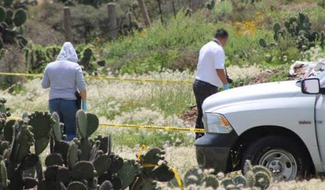 ¡Hallaron a 2 hombres ejecutados dentro de un pozo en Guadalupe, Zacatecas!