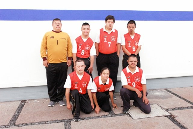 ¡Selección de Aguascalientes participa en el T21 Internacional de Fútbol 5 Síndrome de Down!