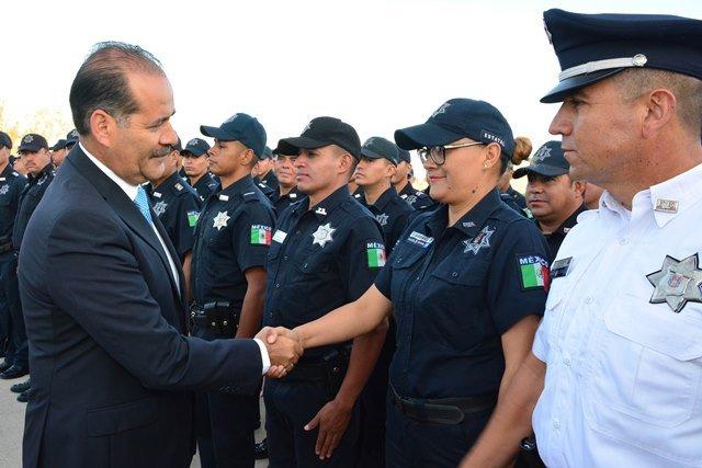 ¡Anuncia el gobernador estímulos para fortalecer las corporaciones de seguridad!