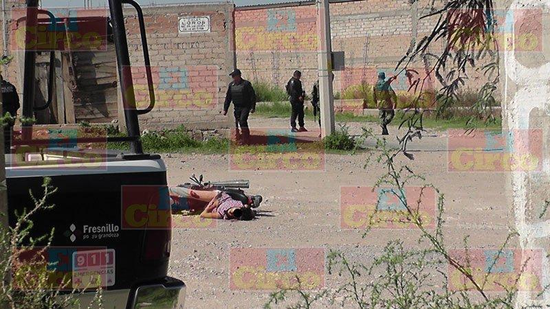 ¡Un hombre fue ejecutado y otro herido tras agresión armada en Fresnillo!