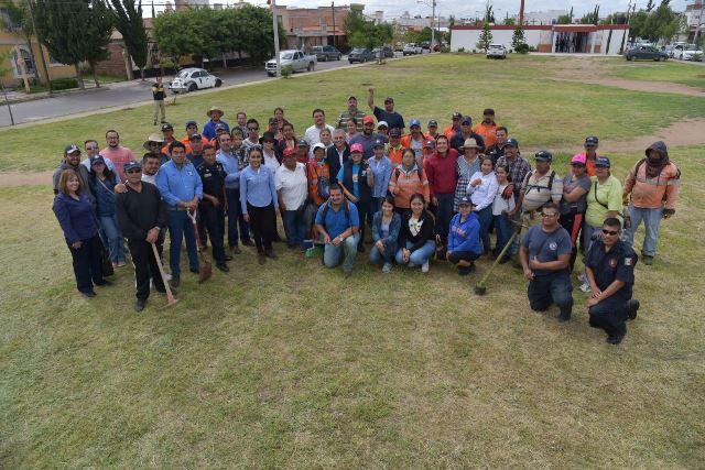 ¡El Ayuntamiento de Jesús María puso en marcha brigadas de limpia en espacios públicos tras lluvias!