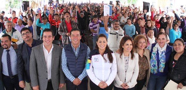 ¡Trabaja Tere Jiménez por mejorar calidad de vida de familias en situación vulnerable!