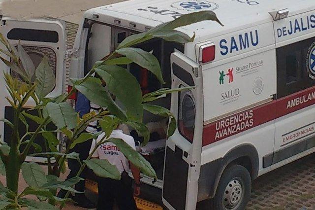 ¡Grave de un balazo policía municipal de Lagos de Moreno!