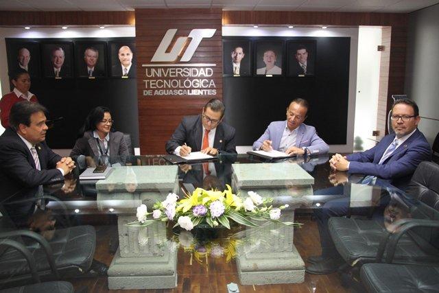 ¡ISSEA firma convenio de colaboración con la Universidad Tecnológica de Aguascalientes!