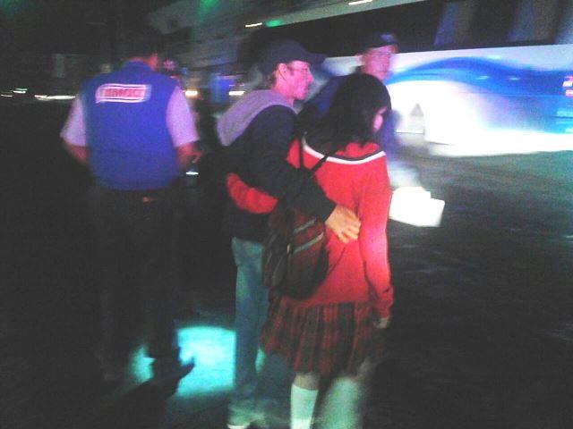 ¡2 estudiantes lesionadas tras ser atropelladas por un automóvil en Aguascalientes!