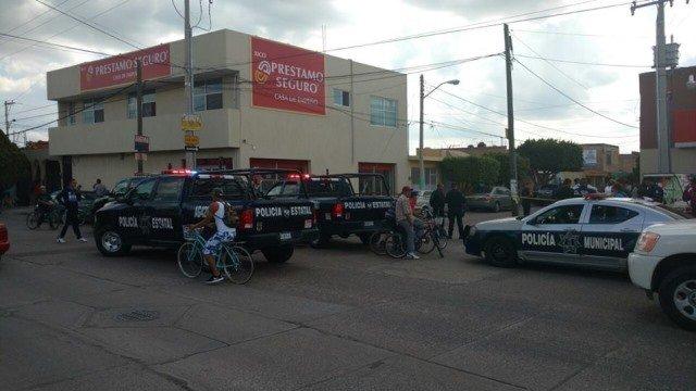 ¡Repartidor de pilas fue baleado por un delincuente durante un asalto en Aguascalientes!